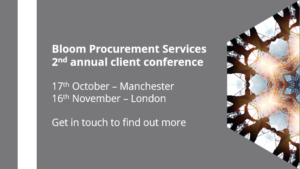 Bloom client conference 2017 – Manchester