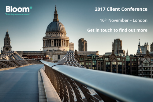 Bloom client conference 2017 – London
