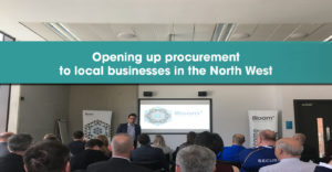 Opening up procurement to local businesses in the North West