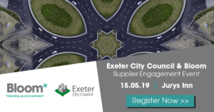 Bloom and Exeter City Council Supplier Engagement Event