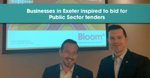 Businesses in Exeter inspired to bid for public sector tenders