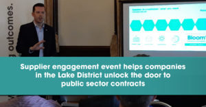 Supplier engagement event helps companies in the Lake District unlock the door to public sector contracts