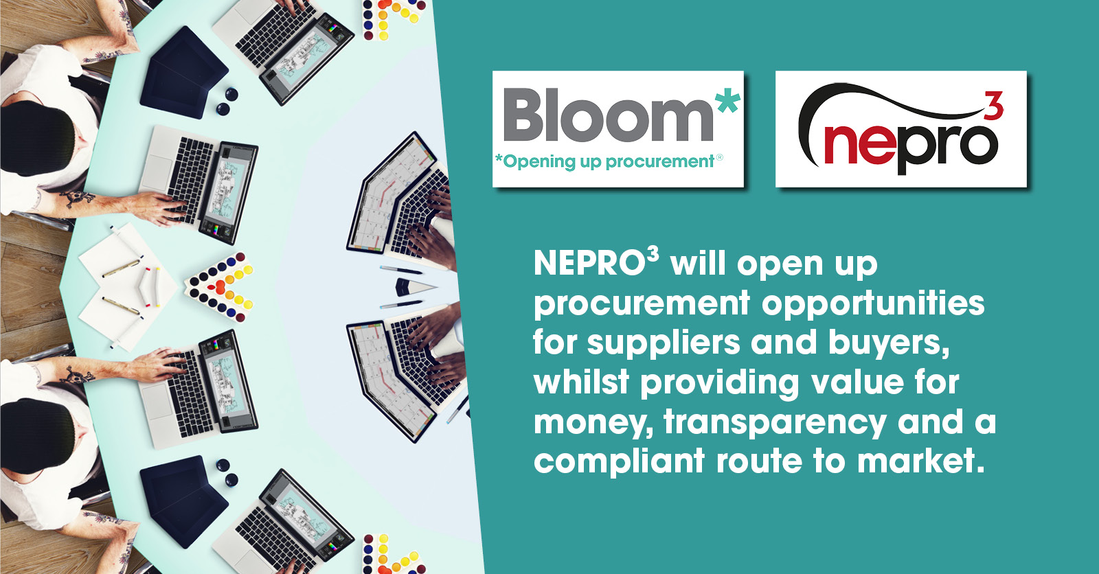Bloom appointed by NEPO as NEPRO³ delivery partner