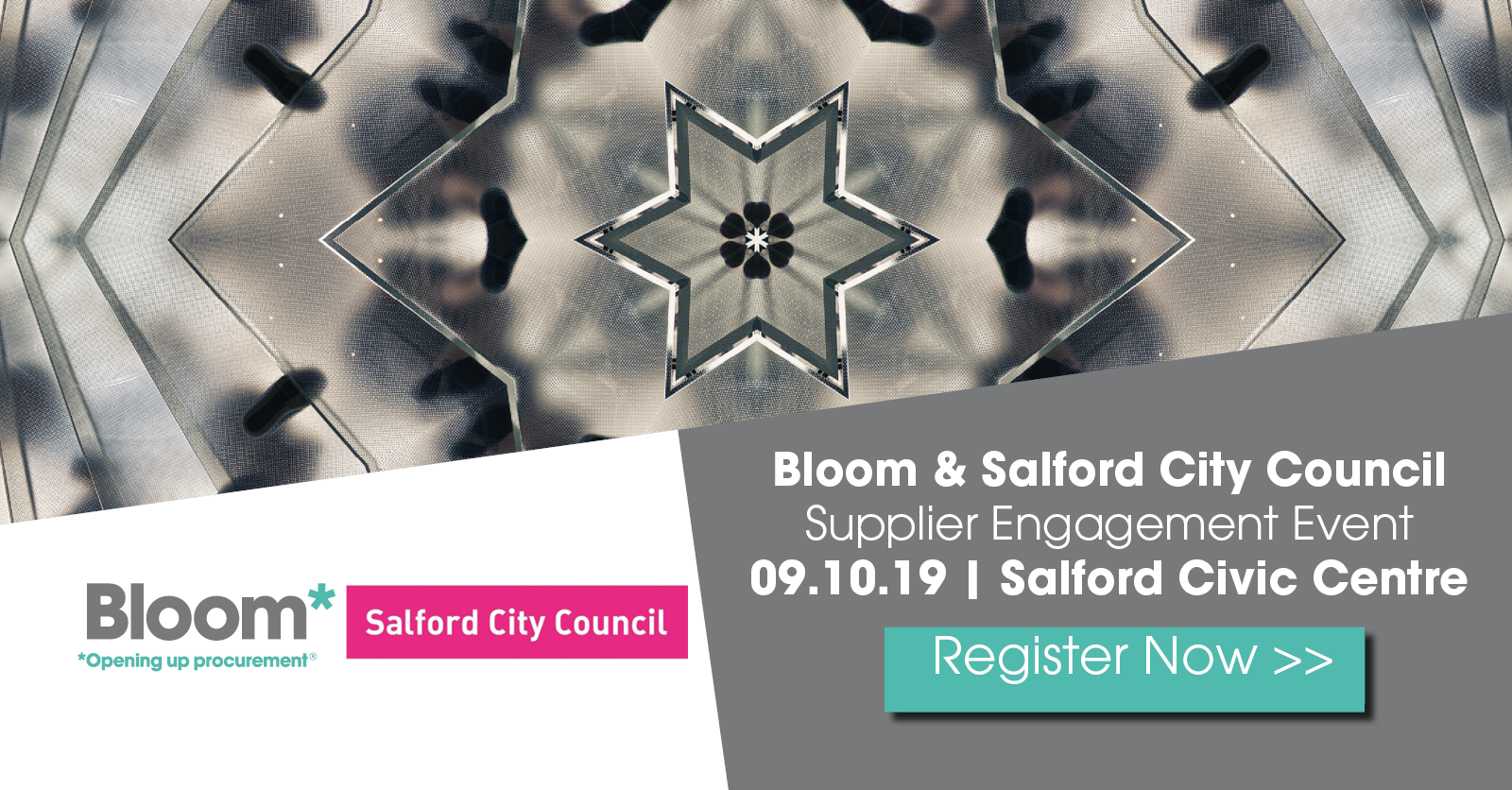 Bloom and Salford City Council Supplier Engagement Event