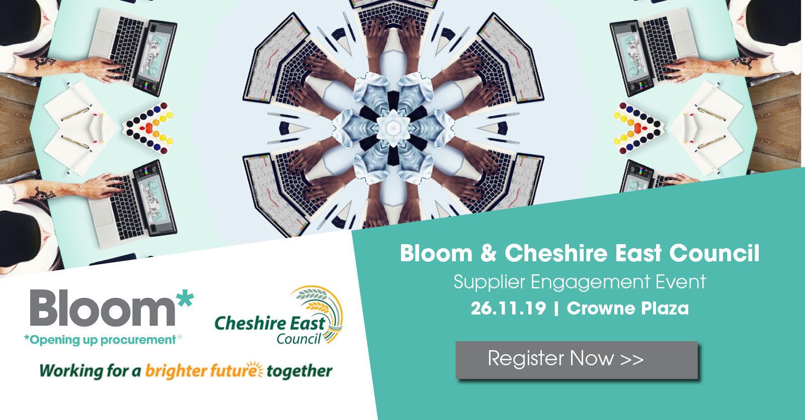 Cheshire East Council & Bloom supplier engagement event