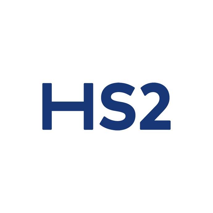 HS2 High Speed Rail 2 Logo