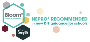 NEPRO³ recommended in new DfE guidance for schools