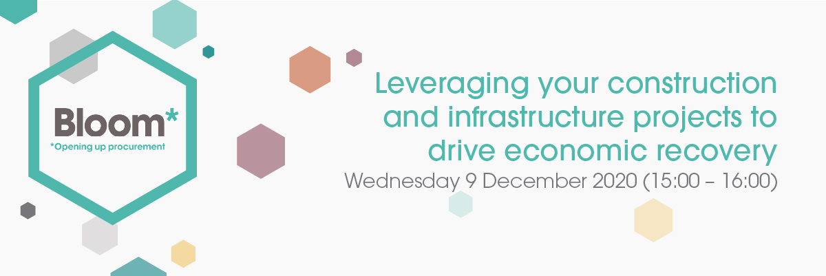 Leveraging your construction and infrastructure projects to drive economic recovery