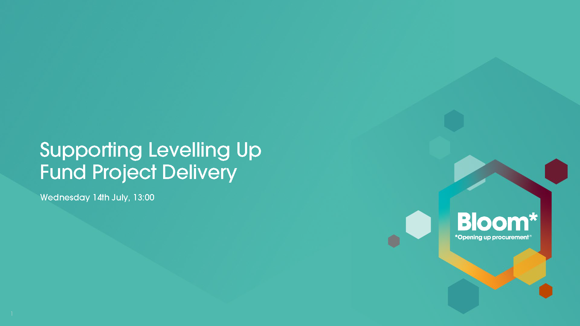 Supporting Levelling Up Fund Project Delivery
